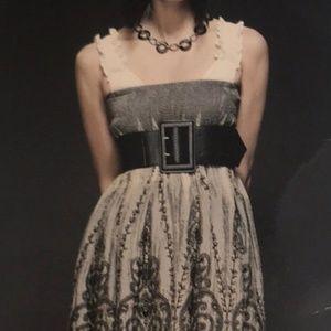 Lapis Strapless Convertible Dress Skirt